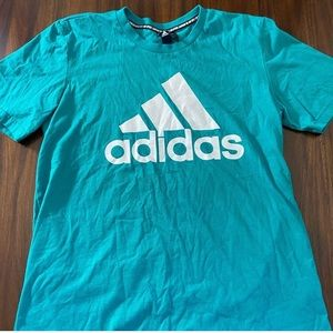 Mens adidas tee shirt size large